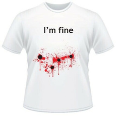 Funny, T Shirts, shot, Shirt