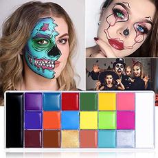 Kit, tattoo, facebodypaintoilpaintingset, paintingpalettetool