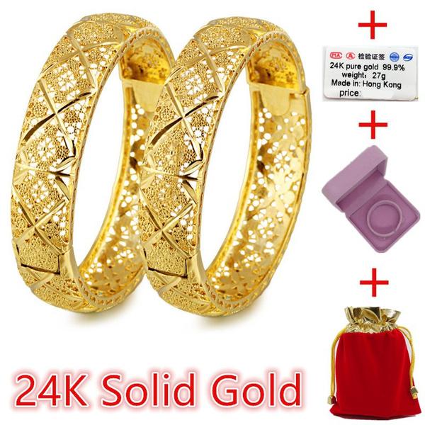 goldplatedbracelet, Wool, 24kgoldbangle, gold