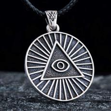 Steel, Party Necklace, pyramidnecklace, punk necklace