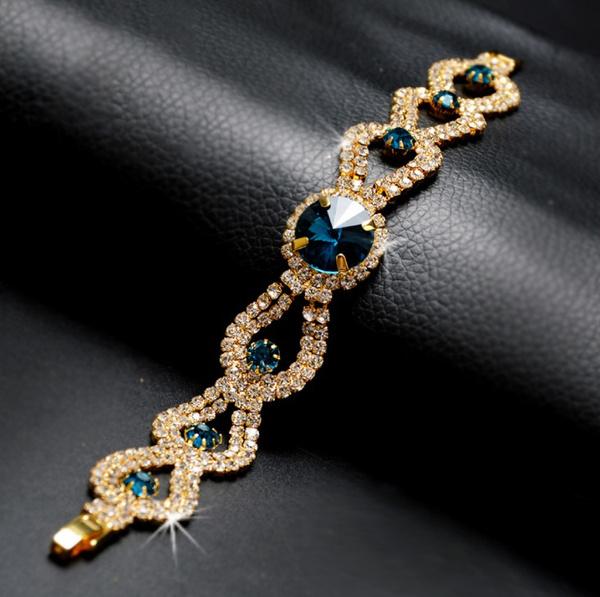 Crystal Bracelet, DIAMOND, Jewelry, Diamond Bracelet
