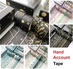 japanesepaper, 10pcsset, papertape, diyhandaccount