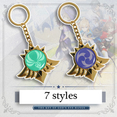 Anime & Manga, Key Chain, Jewelry, genshinimpactcosplay
