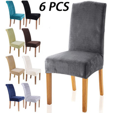 chaircoversdiningroom, Home & Kitchen, velvet, Winter