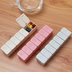 Box, pillbox, portablepillbox, 7latticesstorageboxe