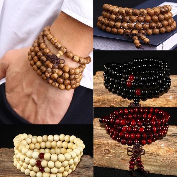 8MM, Jewelry, Beaded, unisex
