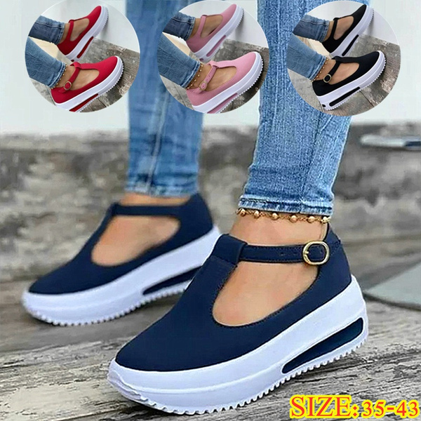 casual shoes, wedge, Sneakers, Sandals