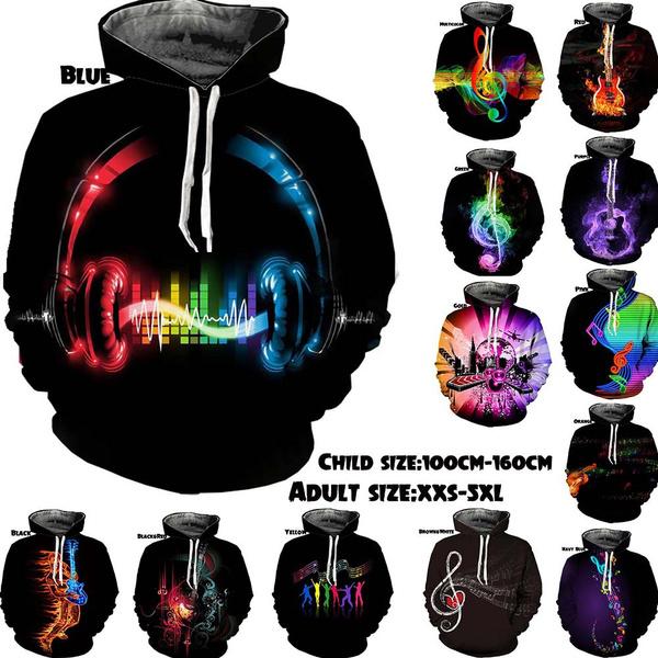 3D hoodies, Style, Fashion, Dj