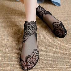 Fashion, silk stockings, Lace, thinsock