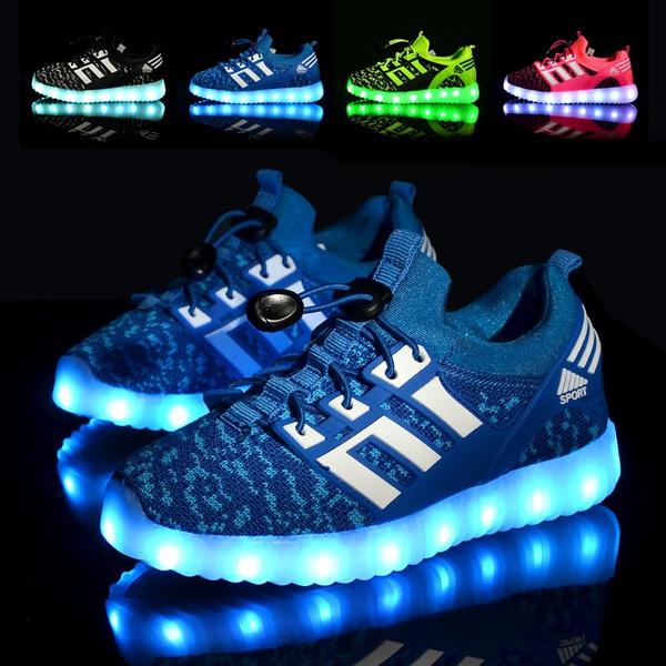 luminouskidssneaker, Sneakers, Fashion, led