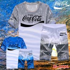 Summer, Beach Shorts, Shirt, Fitness