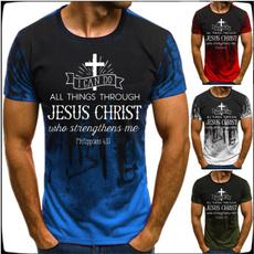 christiantshirt, Fashion, jesusshirt, Sleeve
