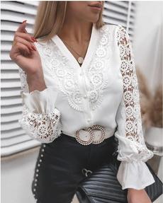 Fashion, Lace, fashionablewomen, Shirt