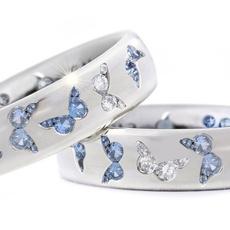 butterfly, Sterling, DIAMOND, 925 sterling silver