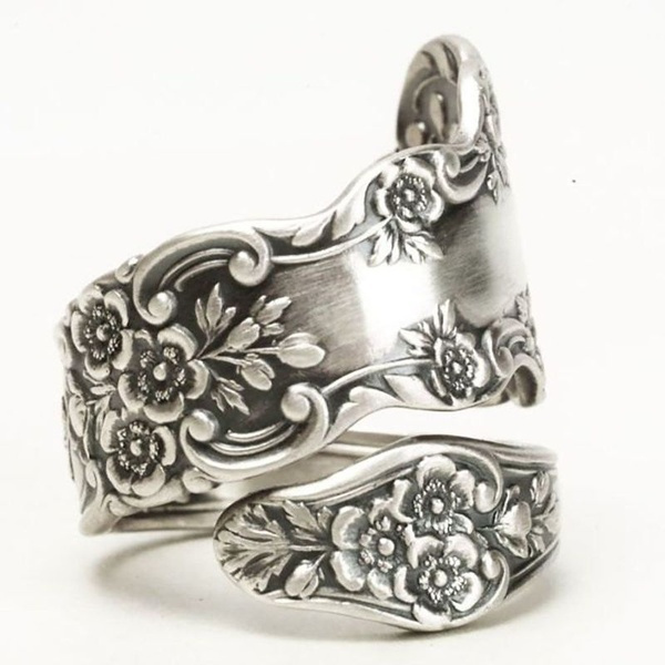 Flowers, 925 sterling silver, Jewelry, Gifts