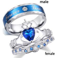 Sterling, Heart, engagementweddingring, wedding ring