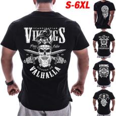 viking, And, Fashion, Shirt