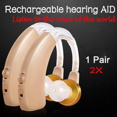 Mini, Rechargeable, hearingaid, Amplifier