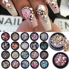 Box, Nails, acrylic nails, art
