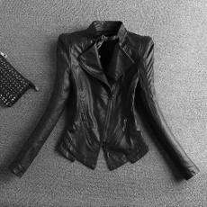 Plus Size, slim, biker, Fashion