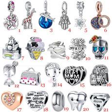 Heart, momcharm, 925 sterling silver, Jewelry