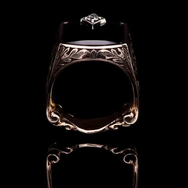 Antique, wedding ring, gold, Silver Ring