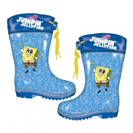rainbootsjuniorevarubberblueyellowsize, Boots