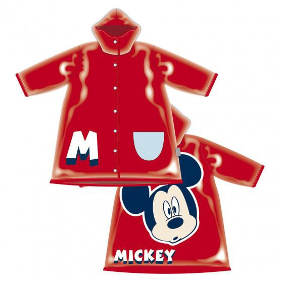 raincoatmickeymousejuniorpvcredmt23y, Mouse, Pvc, Red