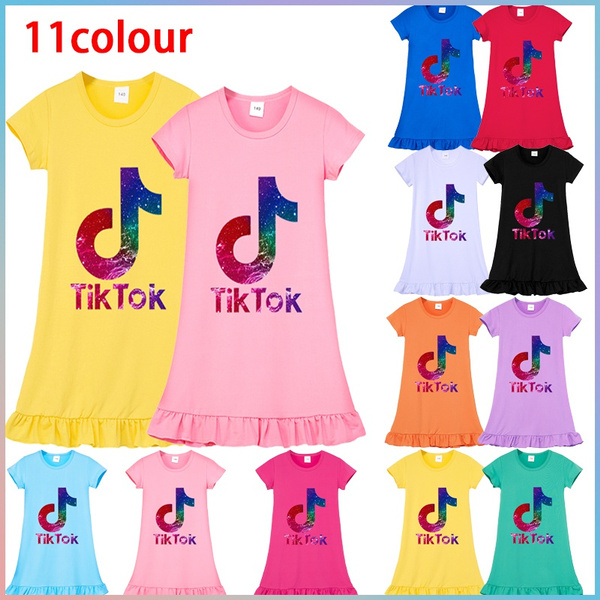 cute, girls dress, childrenspajama, childrensdres