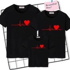 Family, Fashion, letter print, mothersonoutfit