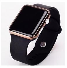 digitalwatche, led, Clock, Silicone