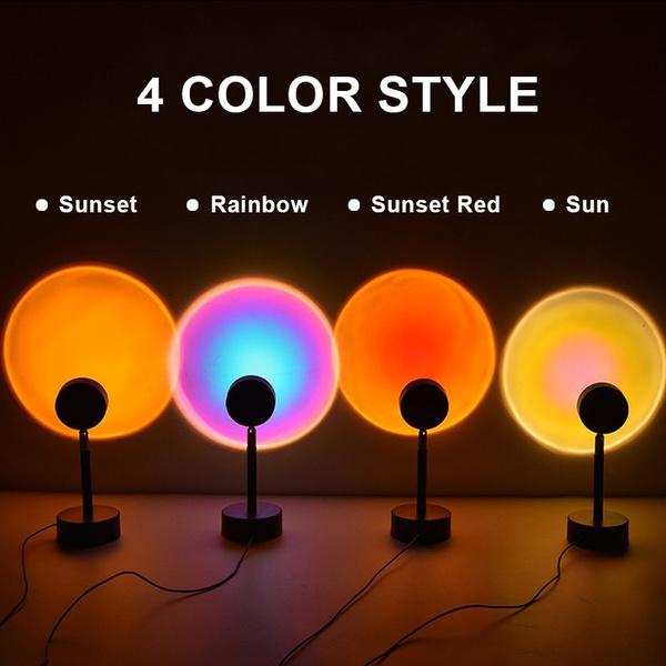 led, rainbow, Coffee, Night Light