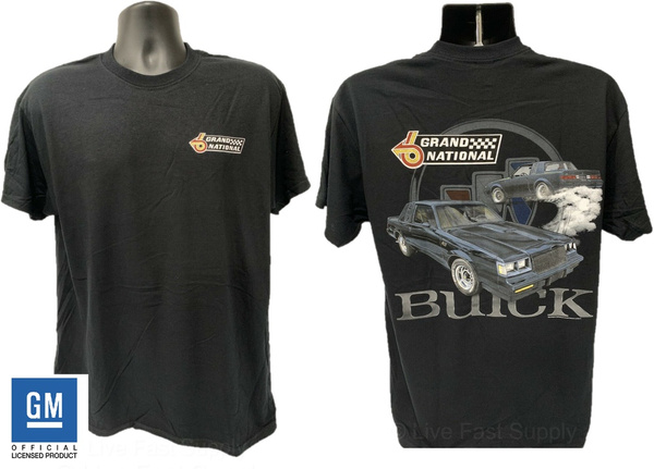 Emblem, Shirt, national, buick
