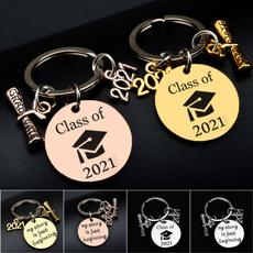 Graduation Gift, Steel, Key Chain, Jewelry