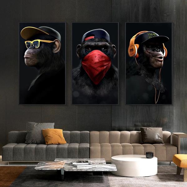 Headset, art, Home Decor, canvaspainting