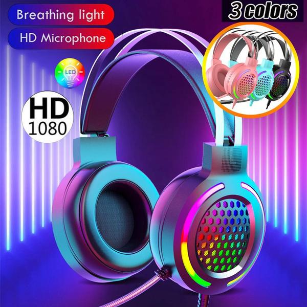 Headset, gameearphone, Earphone, ledheadphone
