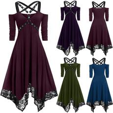 Summer, Fashion, tunic, Lace