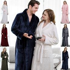 flannelbathrobecouple, gowns, velvet, Winter