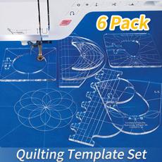 sewingruler, patchworkruler, embroiderymachine, Quilting