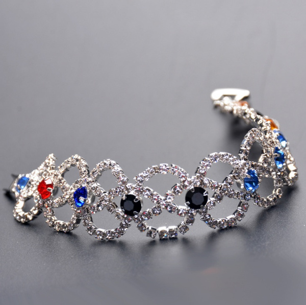 Crystal Bracelet, DIAMOND, Jewelry, stainlesssteelbracelet