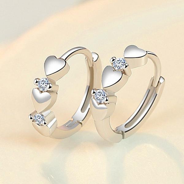Heart, Hoop Earring, Jewelry Accessory, Romantic