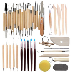 polymer, potterytool, claytool, Wooden