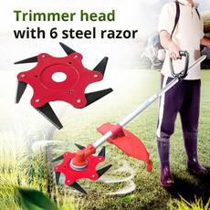 brushcutter, Blade, Garden, lawnmowerhead