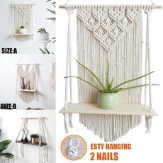 Home & Kitchen, Plants, macrame, art
