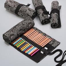 case, pencilcase, pencase, leaf