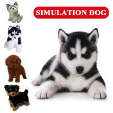simulationdog, cute, Toy, Stuffed Animals & Plush