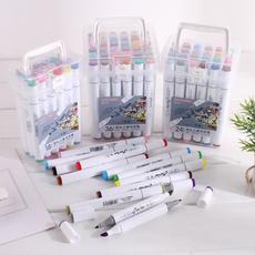 School, artmarker, Drawing, Pen