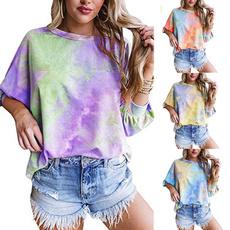 Fashion, ladiestshirt, Sexy Top, solidcolortshirt