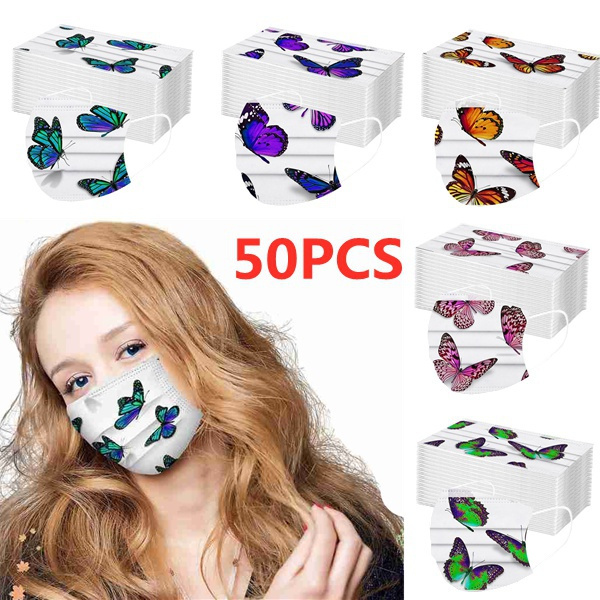 butterfly, Outdoor, mouthmask, medicalmask
