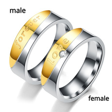 Steel, DIAMOND, engagementweddingring, wedding ring